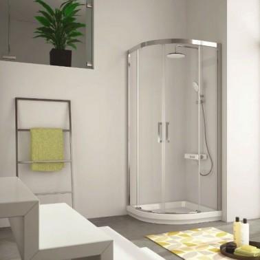 Mampara ducha semicircular 400