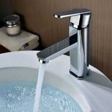 Grifería monomando de lavabo ROMA
