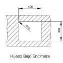 Fregadero cocina INOX AKTUELL 5040