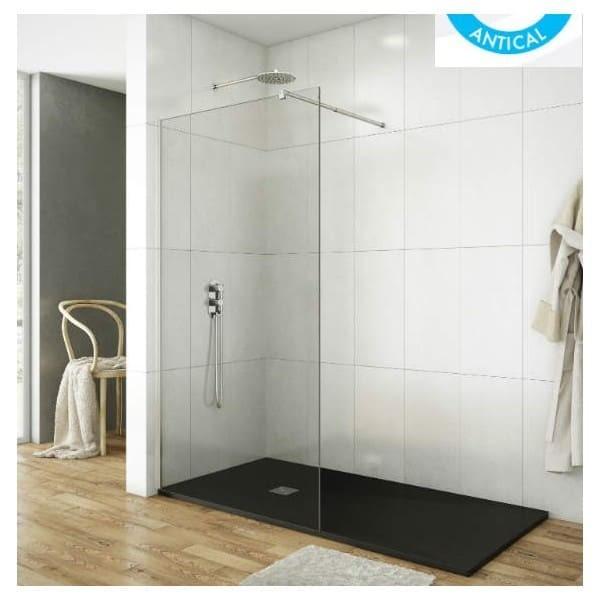 Limpiar mampara bao muy sucia interesting excellent - Como limpiar la mampara de la ducha ...