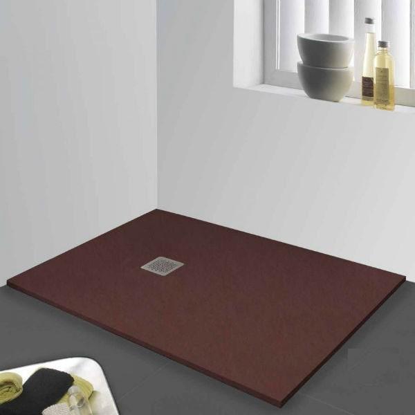 Plato de ducha de resina modelo madrid de venta online en - Plato de ducha negro ...