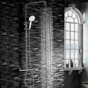 Conjunto de ducha monomando NASSAU