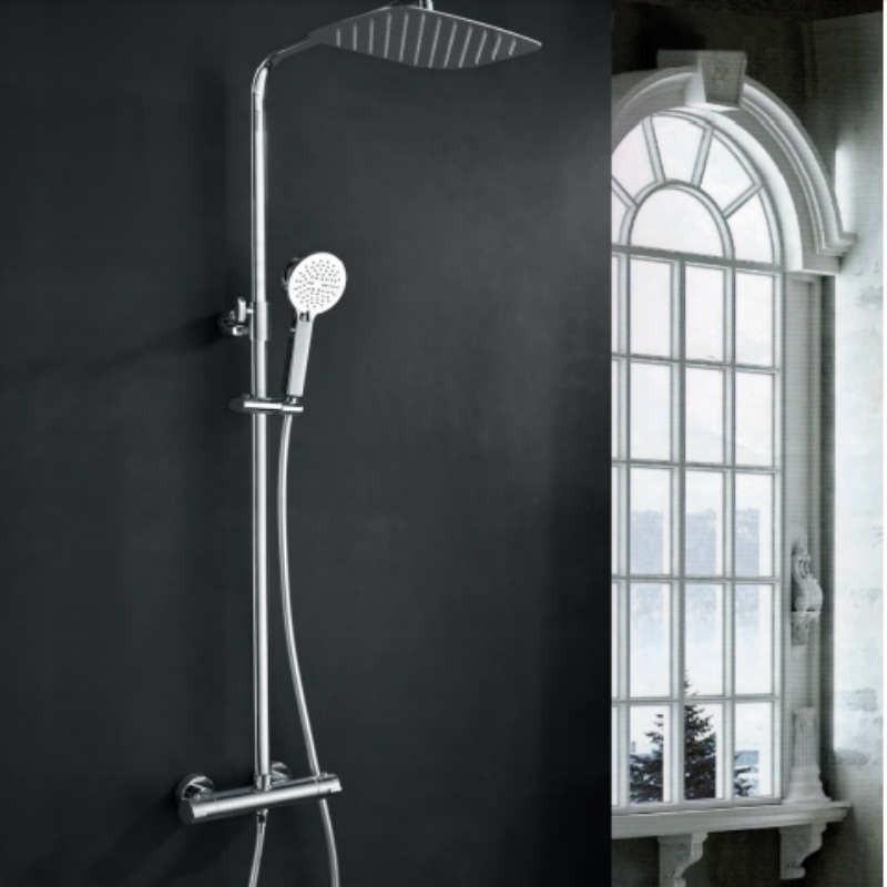 Conjunto de ducha monomando PRAGA