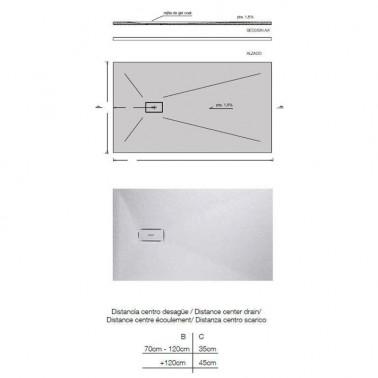 Plato de Ducha a medida modelo BAN