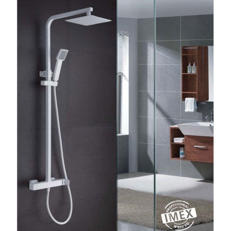 Conjunto de ducha monomando FIYI WHITE