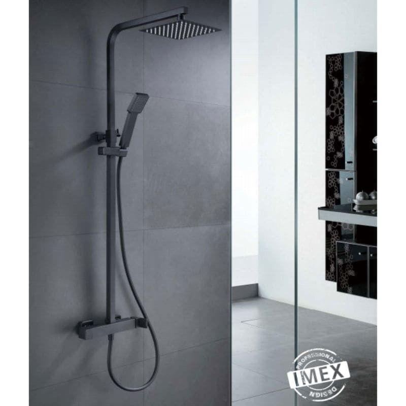 Conjunto de ducha monomando FIYI BLACK