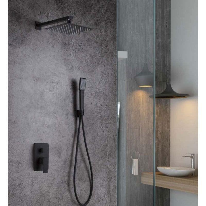 Conjunto de ducha monomando DUBLIN BLACK