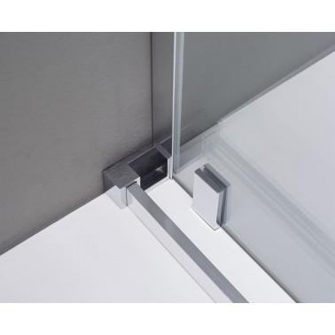 Mampara ducha VITRO Frontal + Fijo en línea