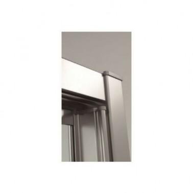 Mampara de Bañera Frontal 1 hoja fija + 1 corredera a medida OVA