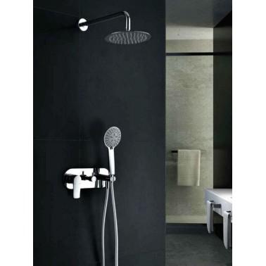 Conjunto empotrado ducha ITALIA monomando