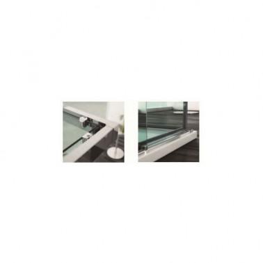 Mampara Angular 2Fijos+ 2Correderas MERCEY