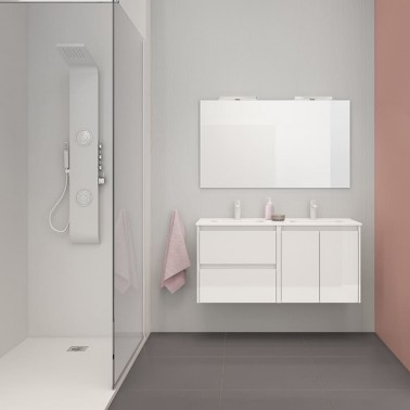 Mueble de Baño SANSA 120 2C + 2P