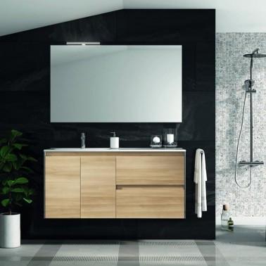 Mueble de Baño LOOK 120 2P + 2C perfil cromado