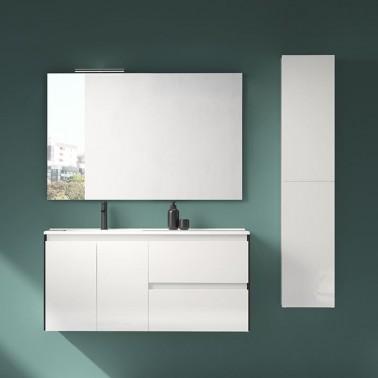 Mueble de Baño LOOK 120 2P + 2C perfil negro