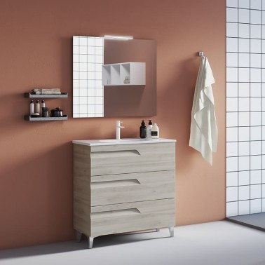 Mueble de Baño VIMALI 80 3C Fondo Reducido