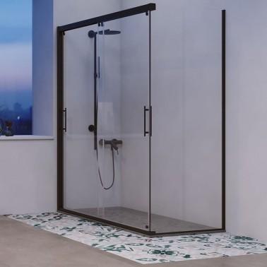 Mampara ducha 2 Correderas + 1 Fijo a medida OTTAWA