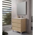 Mueble de baño BOX 80 3C Fondo Reducido