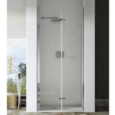 Mampara ducha frontal puerta plegable SOMI