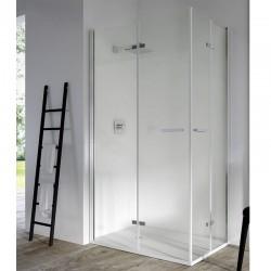 Mampara ducha angular 2 Puertas Plegables SOMI