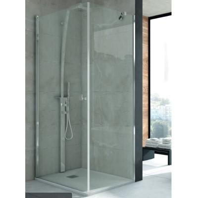 Mampara ducha angular 1 fijo + 1 puerta abatible NIMES