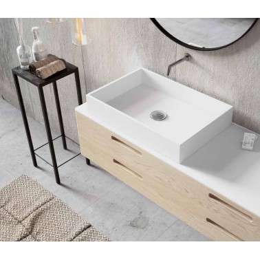 Lavabo de Solid Surface QUADRO