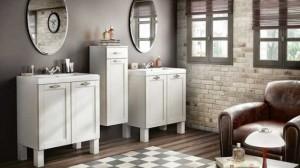 Muebles de baño funcionales en Asealia