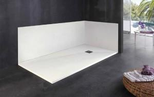Platos de ducha blancos