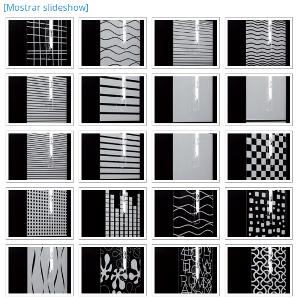 Colección de grabados de mamparas a medida en Asealia
