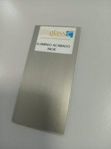 Aluminio terminación Inoxidable