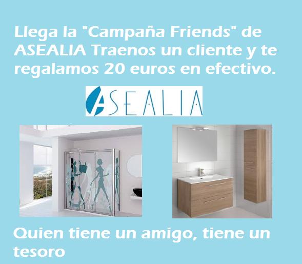 asealia campaña friends