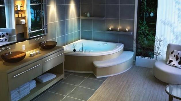baños modernos elegantes