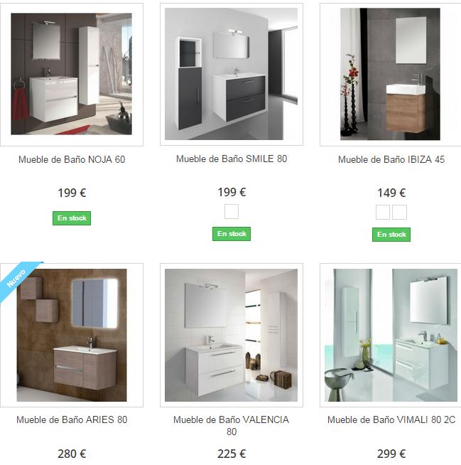 Muebles de baño Valencia