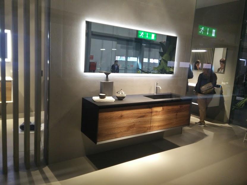 Muebles de baño iluminados