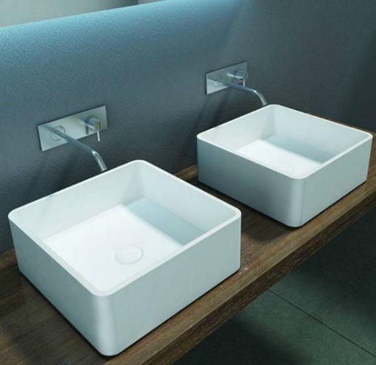 Encimeras de baño modernas