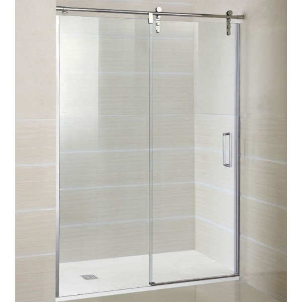 Mampara de ducha en acero inoxidable