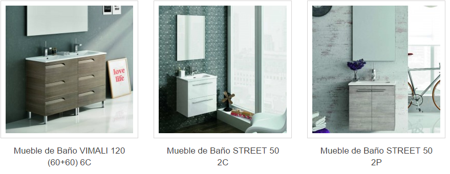 Fabricantes de mobiliario para bano Espana