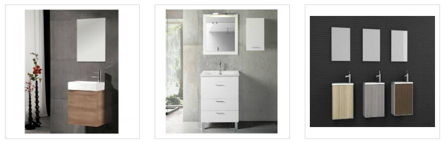 Muebles de ba o peque os ideales para espacios reducidos for Mobiliario para banos pequenos