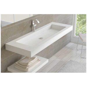 Encimera de solid surface lavabo