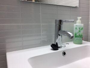 Nettoyer le carrelage de votre salle de bains