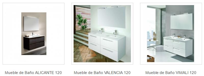Muebles de baño lavabo 120