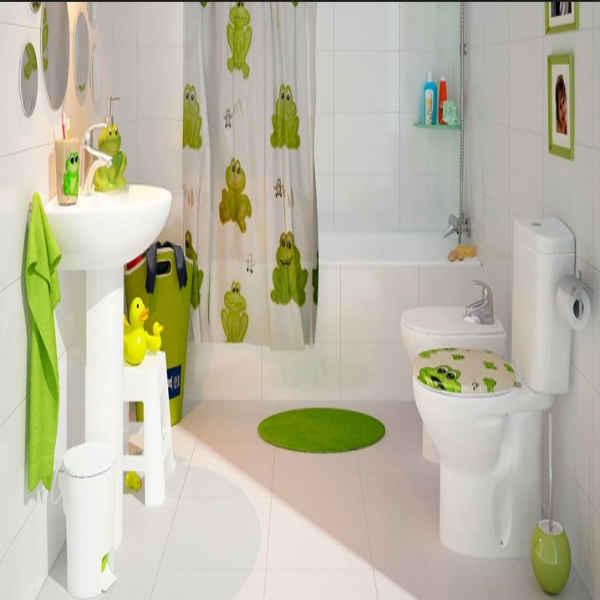 Cómo decorar un cuarto de baño infantil