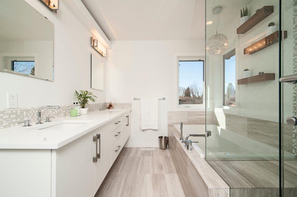 Le style scandinave dans la salle de bains